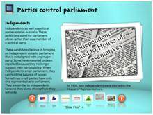 collections_Parties control parliament